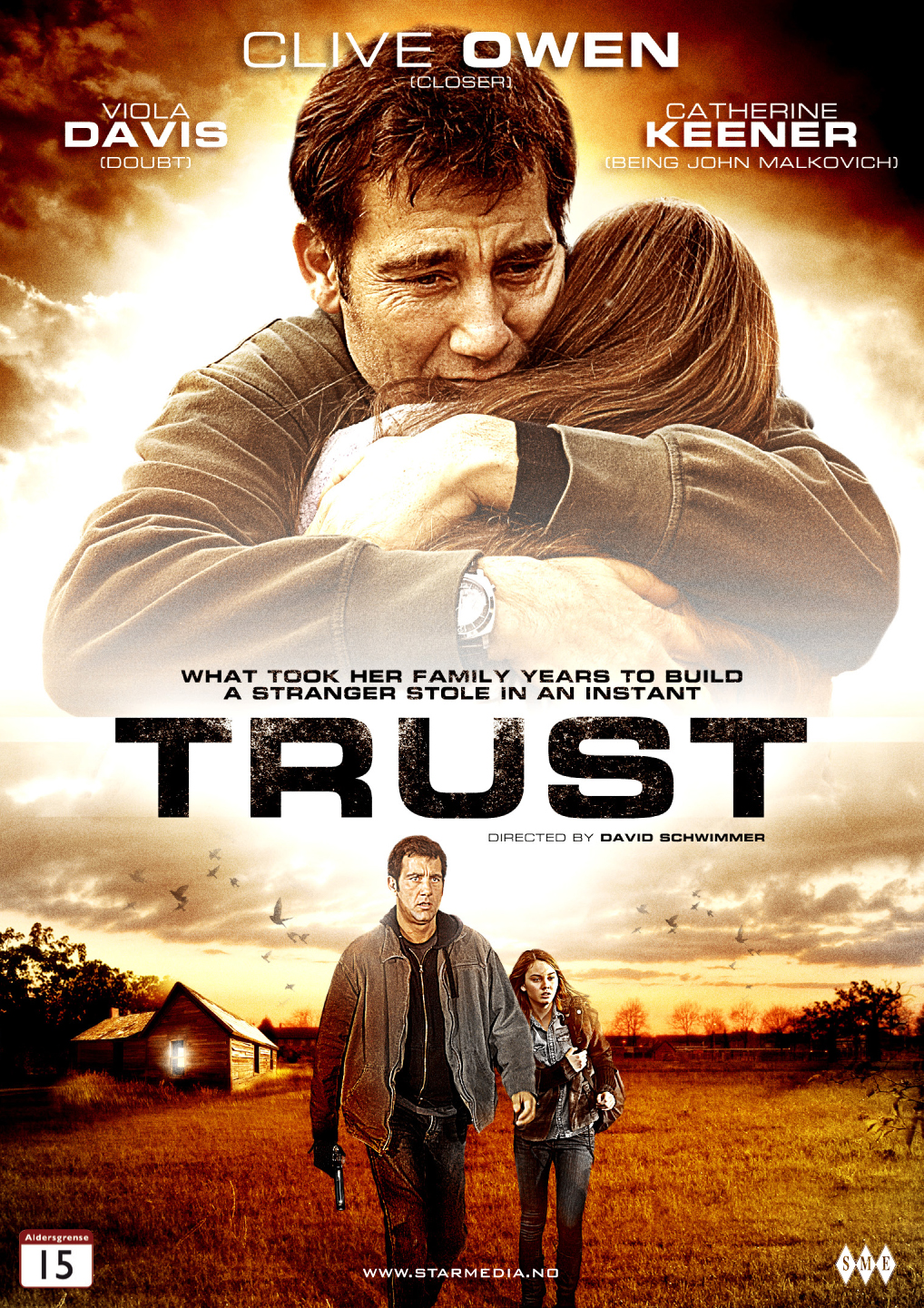 Bilderesultat for Trust clive owen dvd cover